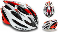 Каска Rudy Project STERLING MTB WHITE-RED FLUO SHINY L