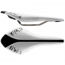 Седло Fizik ARIONE CX MICROTEX WHITE GLOSSY BLACK
