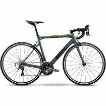 Велосипед шоссейный BMC Teammachine SLR03 TWO Grey/Black/Green Tiagra