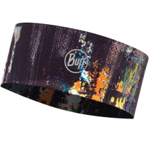 Повязка BUFF FASTWICK HEADBAND R-GRAFFITI BLACK