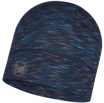 Шапка BUFF LIGHTWEIGHT MERINO WOOL HAT DENIM MULTI STRIPES
