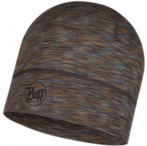 Шапка BUFF LIGHTWEIGHT MERINO WOOL HAT FOSSIL MULTI STRIPES