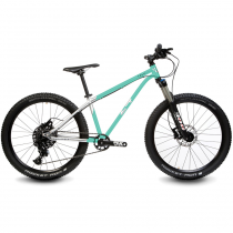 Велосипед детский Early Rider Trail 24'' Hardtail Cyan/Brushed Al