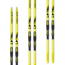 Лыжи FISCHER SPRINT CROWN YELLOW JR