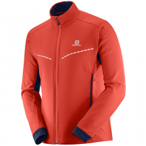 Куртка SALOMON AGILE SOFTSHELL  M FIERY