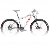 Велосипед MTB Wilier 407 XB Deore Mix White/Red