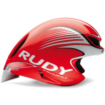 Шлем Rudy Project WING57 RED FLUO/WHITE SHINY S-M