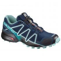Кроссовки SALOMON SPEEDCROSS 4 W Poseidon/Eggshe