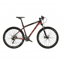 Велосипед MTB Wilier 401 XB Mix XT Black/Red fluo