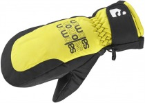 Варежки SALOMON FLYING MITTEN JUNIOR BLACK/CORO